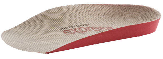 Express Red 3/4 Length